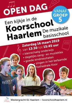 Zondag 16maart 2019 - Open Dag Koorschool Haarlem