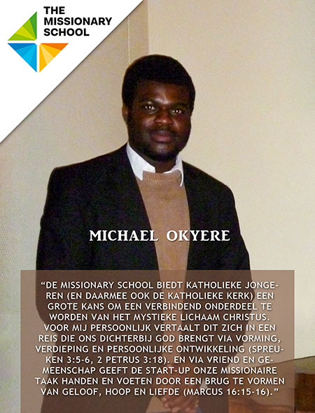 Michael over The Missionary School